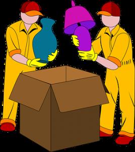 опаковане и преместване
