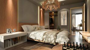 красива и модерна спалня