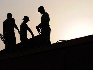 строителни работници